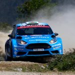 Rally de Portugal: Error costs Evans shot at WRC2 victory in Portugal