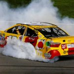 Kyle Busch wins NASCAR Cup race to give Toyota weekend sweep at Kansas