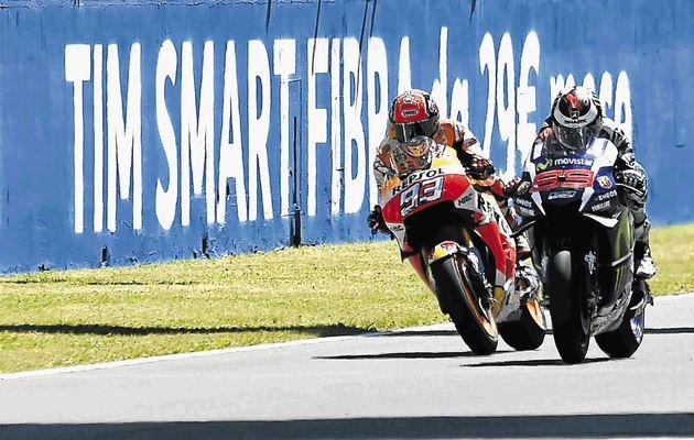 Marquez and Lorenzo
