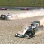 F1: UK papers declare 'all-out war' at Mercedes after Rosberg, Hamilton crash in Spanish GP