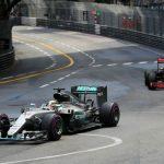 F1 Monaco GP: Hamilton denies Ricciardo in Monaco thriller
