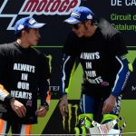 MotoGP Catalunya: Rossi: Marquez handshake 'right thing to do'