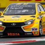 Gabriele Tarquini wins in the wet, leading a Lada 1-2 at home in Russia