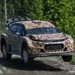Citroen tests 2017 rally car aerodynamic performance
