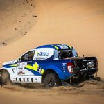 DAUNTING SILK WAY RALLY CHALLENGE AWAITS DMAS SOUTH  RACING'S CHILEAN DUO OF GARCES AND EGUIGERAN