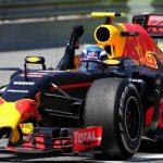 Austrian pace as kerbs catch out Verstappen