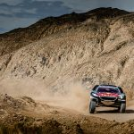 Cyril Despres left to spearhead Peugeot Silk Way Rally bid after SS12