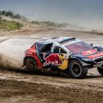 Team Peugeot-Total remain on top before Friday's rest day
