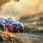 Seven car finish on Volkswagen Rally