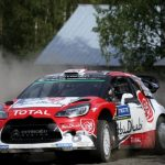 Finland WRC: Meeke concludes Saturday with 41-second lead