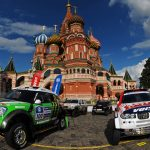 Red Bull Desert Wings strapped in for the Silk Way Rally