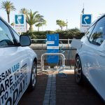 Nissan and BMW switch on first joint coastal EV charging stations