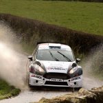 BRC Ulster Rally: Evans secures British title with fourth victory of year