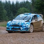2017 M-Sport Fiesta takes to the gravel