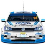 Global Touring Car championship competition for Volkswagen at Zwartkops