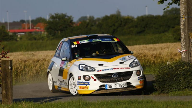 Opel ERC Junior drivers ready for WRC challenge in Germany