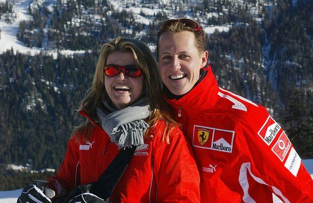 Schumacher and Corinne