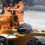 Renault suspects fuel breather issue caused Magnussen fire
