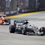 F1 Singapore GP: 'On the limit' Rosberg resists charge to regain lead
