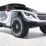 Peugeot has made a new, evil Dakar car