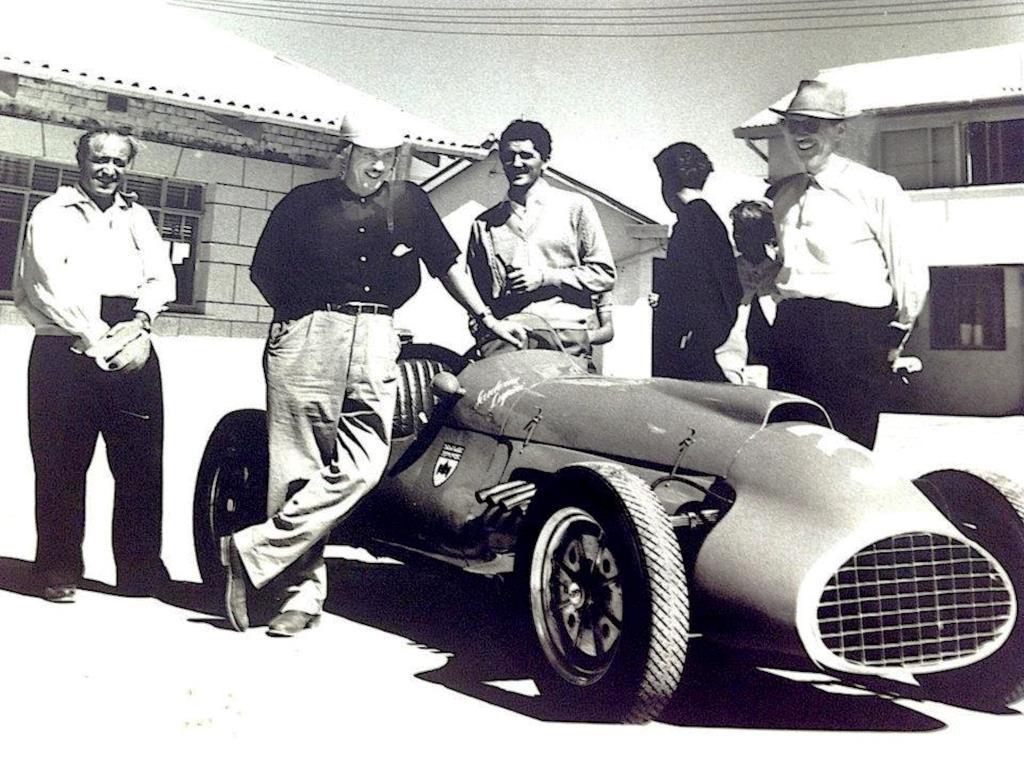 Gigi Lupini and his Cooper Bristol