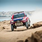 Red Bull Desert Wings score success at Rallye du Maroc
