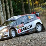Tänak sets shakedown pace at Wales Rally GB