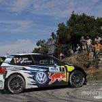 Corsica WRC: Ogier stretches lead, Meeke crashes out