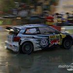 Catalunya WRC: Ogier leads in heavy rain after SS4