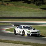 Alessandro Zanardi behind the wheel of the BMW M6 GT3 for the first time