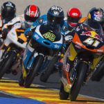 Binder bows out of Moto3 in style