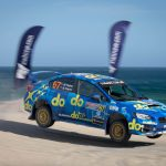 Molly makes history as first female Australian rally champ
