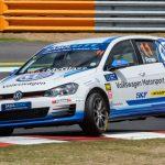Volkswagen Motorsport prepared for high-speed action in East London