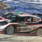 Rallye Monte Carlo: SS9/10: Stage win for Evans