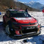 Road car collision ends Meeke's Monte Carlo Rally