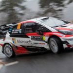 Stunning WRC debut for Toyota