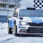 SKODA marks 40th anniversary of legendary Rally Monte Carlo win