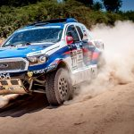 HIGH-SPEED SECOND STAGE CRASH FORCES PONS TO RETIRE  HIS DMAS SOUTH RACING FORD RANGER FROM DAKAR RALLY