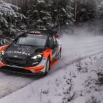 Ostberg surprise leader at Rally Sweden shakedown