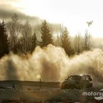Latvala suffers heavy crash during pre-Mexico test