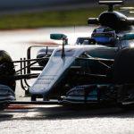 Bottas lowers best time as Raikkonen crashes