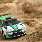 Friday WRC 2 in Mexico: Tidemand takes charge