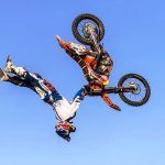 Daredevil FMX riders take on gravity in new stunt show at the Rand Show 2017
