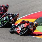 Davies Breaks Rea Winning Streak at Aragon