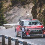 Three Citroen C3 WRC's line up for Tour de Corse