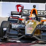 James Hinchcliffe, Honda race to IndyCar Toyota Grand Prix of Long Beach victory