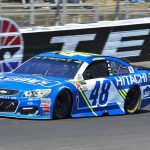 Jimmie Johnson wins wild Monster Energy NASCAR Cup Series race at Texas