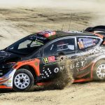 Rally Portugal: SS1: ØSTBERG AND NEUVILLE TIE