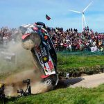 Watch as two rally drivers survive horror smash in 2017 World Championship in Portugal