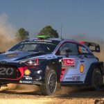 WRC Rally Italy: Paddon leads Hanninen as Meeke rolls out of lead